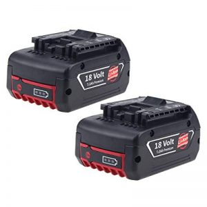 2X Forrat 18V 5,0Ah Li-ion Batterie pour Bosch Pro BAT609 BAT609G BAT610G BAT618G BAT618 BAT619 BAT619G BAT620 BAT621 (Nouvelle version avec indicateur LED) de la marque Forrat image 0 produit