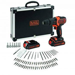 Black & Decker Batterie perceuse 80pièces, 1pièce, bdchd18bafc de la marque Black & Decker image 0 produit