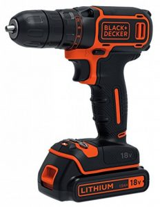Black & Decker BDCDC18B-QW Perceuse-visseuse 18 V avec 2 batteries 1,5 Ah de la marque Black & Decker image 0 produit