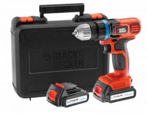 Black + Decker EGBL14KB Perceuse sans fil 14,4 volts Lithium de la marque Black & Decker image 0 produit
