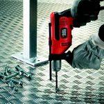 BLACK+DECKER KR714S32-QS Perceuse à percussion filaire - 710 W - 20,5 Nm - 0 - 2800 trs/min - 47600 coups/min - 1 vitesse - Coffret d'accessoire - Livrée en sac de rangement de la marque Black & Decker image 4 produit