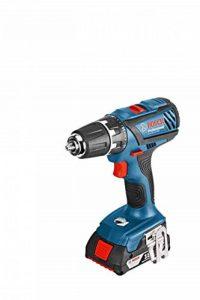 Bosch 06019e6120Professional Perceuse-visseuse sans fil GSR 18–2-LI Plus 2x 2, 0AH Batterie 18V de la marque Bosch image 0 produit