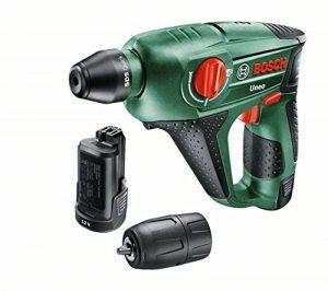 Bosch 060398400E Uneo Perforateur sans fil technologie Syneon avec 2 Batteries/Adaptateur pour Forets 12 V 2,5 Ah de la marque Bosch image 0 produit