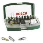 Bosch Boîtier d'embouts de vissage courts avec code couleur 31 pièces et 1 porte-embout 2607017063 de la marque Bosch image 3 produit