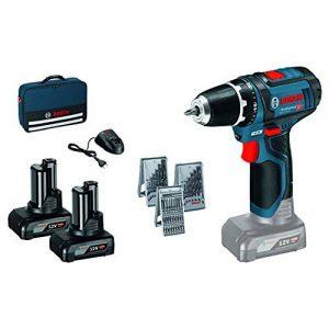 Bosch GSR 12V Lot de 15+ 2x 4,0Ah en sac, 1 pièce, 0615990HV1 de la marque Bosch Professional image 0 produit