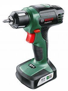 Bosch Perceuse-visseuse EasyDrill 12 sans fil batterie intégrée 12V 1,5 Ah 6/15 Nm 06039B3000 de la marque Bosch image 0 produit