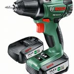 """Bosch Perceuse-visseuse """"Expert"""" sans fil PSR 14,4 Li-2 coffret 2 batteries 14,4V 2,5 Ah, technologie Syneon 060397340P de la marque Bosch image 1 produit"""