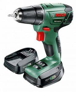 """Bosch Perceuse-visseuse """"Expert"""" sans fil PSR 14,4 LI, coffret 2 batteries 14,4V 1,5 Ah, technologie Syneon 060395430C de la marque Bosch image 0 produit"""