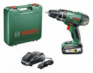 """Bosch Perceuse-visseuse à percussion """"Expert"""" sans fil PSB 18 Li-2, coffret 1 batterie 18V 2,5 Ah, technologie Syneon 060398230B de la marque Bosch image 0 produit"""