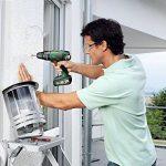"""Bosch Perceuse-visseuse à percussion """"Expert"""" sans fil PSB 18 Li-2, coffret 1 batterie 18V 2,5 Ah, technologie Syneon 060398230B de la marque Bosch image 2 produit"""
