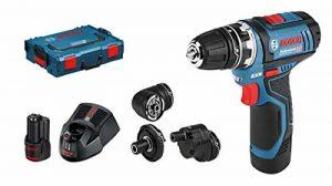 Bosch Perceuse-visseuse sans fil GSR 12V Lot de 15FC, L-BOXX, 2x 2ah, 1, 06019F6000 de la marque Bosch Professional image 0 produit