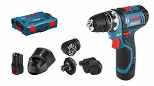 Bosch Perceuse-visseuse sans fil GSR 12V Lot de 15FC, L-BOXX, 2x 2ah, 1, 06019F6000 de la marque Bosch-Professional image 0 produit