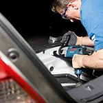Bosch Professional 060117B500 GSB 19-2 RE Perceuse à percussion, 850 W Coffret, Bleu de la marque Bosch Professional image 3 produit