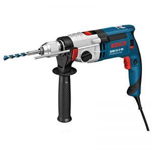 Bosch Professional 060119C500 Perceuse à percussion GSB 21-2 RE, 1100 W Coffret, Bleu de la marque Bosch Professional image 0 produit