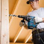 Bosch Professional 061124A000 GBH 3-28 DFR Perforateur, 800 W Coffret, Bleu de la marque Bosch Professional image 4 produit
