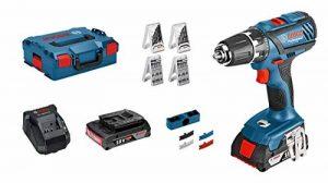 Bosch Professional 0615990H27 Set Perceuse-Visseuse sans Fil GSB 18V-21, Multicolore de la marque Bosch Professional image 0 produit