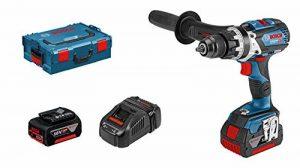 Bosch Professional - GSB 18V-85C Perceuse-visseuse à percussion dans L-BOXX avec 2 batteries 5,0 Ah Li-Ion, set d'accessoires de la marque Bosch Professional image 0 produit