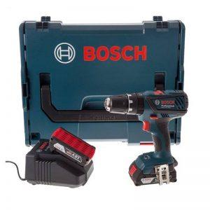 Bosch Professional GSB18-2-LI PLUS Perceuse visseuse à percussion 2 x 18 V 2 Ah (version et prise FR) de la marque Bosch image 0 produit