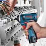 """Bosch Professional GSR 12V de 20HX Visseuse sans fil (avec 1/4""""– SIX pans creux, Click & Go, sans batterie, sans chargeur dans coffret L-Boxx) 06019d4103 de la marque Bosch Professional image 1 produit"""