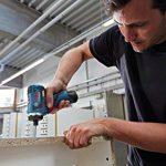 """Bosch Professional GSR 12V de 20HX Visseuse sans fil (avec 1/4""""– SIX pans creux, Click & Go, sans batterie, sans chargeur dans coffret L-Boxx) 06019d4103 de la marque Bosch Professional image 3 produit"""