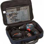 Bosch Professional GSR 12V-15 Perceuse sans fil avec 39 pièces Set d'accessoires, 2 batteries 2,0 AH, Chargeur de batterie avec pochette de rangement, 12 V de la marque Bosch Professional image 1 produit