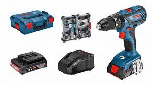 Bosch Professional perceuse-visseuse à percussion sans-fil GSB 18 V-28 (2 batteries 2,0 Ah, 18 V, avec set d'accessoires 35 pièces, dans L-BOXX) de la marque Bosch Professional image 0 produit