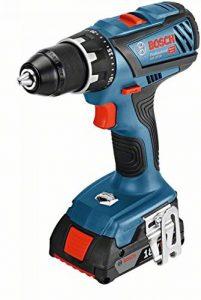 Bosch Professional perceuse-visseuse sans-fil GSR 18V-28 (2 batteries 2,0 Ah,18 V, ∅ de vissage maxi : 8 mm, L-BOXX) de la marque Bosch Professional image 0 produit