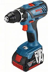 Bosch Professional perceuse-visseuse sans-fil GSR 18V-28 (2 batteries 5,0 Ah, 18 V, ∅ de vissage maxi : 8 mm, L-BOXX) de la marque Bosch Professional image 0 produit