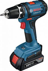 Bosch Professional Visseuse sans-Fil GSR 18-2 LI (2 Batteries 1,5 Ah, Chargeur, L-BOXX, 18 V, Couple Maxi : 38 Nm, Ø de Vissage Maxi : 7 Mm) de la marque Bosch Professional image 0 produit