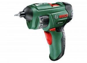 Bosch Visseuse sans fil à barillet PSR Select avec coffret, 12 embouts de vissage intégrés, batterie intégrée et chargeur 0603977000 de la marque Bosch image 0 produit