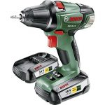 Bosch Visseuse sans Fil PSR 18 LI-2 (2 Batteries, Chargeur, Embout de Vissage Double, Coffret, Système 18V, 2,5 Ah) de la marque Bosch image 1 produit