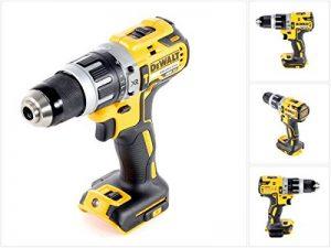 DeWalt DCD796 XR Brushless Combi Hammer Drill Driver Tool 2-Speed 18V Bare Unit de la marque DeWalt image 0 produit