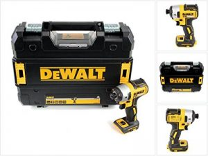 """DeWalt DCF887NT-XJ 18V XR LI-IONVisseuse à impacts sans balais XR 18V 1/4""""205Nm Chargeur/batterie non inclus Mallette TSTAK incluse de la marque DeWalt image 0 produit"""