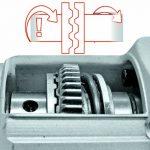 Einhell Marteau-perforateur électrique TH-RH 1600 (1600 W, Mandrin SDS Plus, Tête robuste en aluminium, Livré avec accessoires) de la marque Einhell image 2 produit