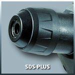 Einhell Marteau-perforateur sans fil sur batterie TE-HD 18 Li Kit Power-X-Change (18 V, Fréquence de frappe 0-5.700 cps/min, Couple 9,9 Nm) VERSION KIT, LIVRE AVEC BATTERIE ET CHARGEUR de la marque Einhell image 3 produit