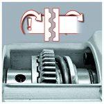 Einhell Marteau perforateur TC-RH 900 (900 W, Mandrin SDS‐Plus, Perçage, Percussion, Burinage, Arrêt de percussion, Livré en coffret avec accessoires) de la marque Einhell image 2 produit