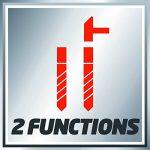 Einhell Perceuse à percussion TC-ID 710 E (710 W, Capacité de perçage : bois 25 mm, Variateur électronique, Livré avec poignée supplémentaire et de profondeur en métal) de la marque Einhell image 4 produit