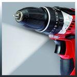 Einhell Perceuse-Visseuse à Percussion sans fil sur Batterie TE-CD 12 Li I (Lithium Ionique, 12 V, 2 Vitesses, 30 Nm, Lumière LED, Valise, y c. Pile 2 x 2,0 Ah) de la marque Einhell image 4 produit