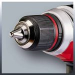 Einhell Perceuse Visseuse sans fil sur batterie TE-CD 18 Li E Solo Power X-Change (18 V, Couple 47 Nm, Mandrin 13 mm monobloc auto-serrant) VERSION SOLO, LIVRE SANS BATTERIE NI CHARGEUR de la marque Einhell image 1 produit