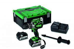 Hitachi DS18DBL2 Perceuse Visseuse, Vert de la marque Hitachi image 0 produit