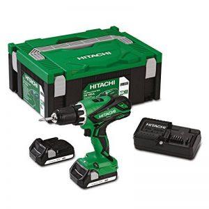 Hitachi ds18djl Perceuse-visseuse sans fil 18V + 2x 2,5Ah batteries Li-ion + HSC II 2 de la marque Hitachi image 0 produit