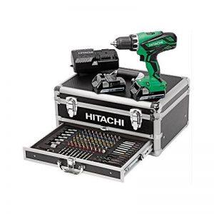 Hitachi KC18DJLF Perceuse visseuse 2 x 18 V 2,5 Ah + 100 Accessoires de la marque Hitachi image 0 produit