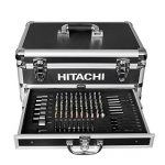 Hitachi KC18DJLF Perceuse visseuse 2 x 18 V 2,5 Ah + 100 Accessoires de la marque Hitachi image 1 produit