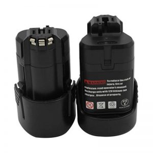KINSUN 2-Pack Remplacement Outil électrique Batterie 10.8V 1.5Ah Li-Ion pour Bosch Perceuse Sans Fil Pilote d'impact 2 607 336 013 2 607 336 014 BAT411 BAT411A BAT412A GDR 10.8-LI GMF 10.8 V-LI GSR 10.8 V-LI2 GUS 10.8 V-LI et Plus de la marque KINSUN image 0 produit