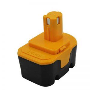 KINSUN Remplacement Outil électrique Batterie 14.4V 2.0Ah pour Ryobi Perceuse Sans Fil Pilote d'impact 130224010 130281002 1314702 1400144 1400655 1400656 1400671 4400011 130224017 HP1441 RY6201 de la marque KINSUN image 0 produit