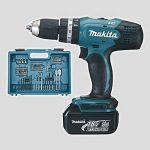Makita DHP453RFX4 Perceuse visseuse à percussion DHP453Z + 2 batteries 18V 3Ah Li-ion + 74 accessoires + coffret de transport de la marque Makita image 1 produit