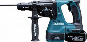 Makita DHR243RTJ Perforateur Burineur SDS Plus en Coffret Makpac avec Mandrin/2 batteries 18 V 5 Ah de la marque Makita image 0 produit