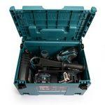 Makita DLX2145TJ Makpac Perceuse visseuse à percussion DHP458Z + visseuse à chocs DTD152Z + 2 batteries 18V 5Ah Li-ion + coffret de la marque Makita image 3 produit