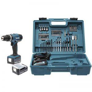 Makita HP347DWEX3 Perceuse Visseuse à percussion avec 2 batteries 14,4 V 1,3/74 accessoires en Coffret de la marque Makita image 0 produit