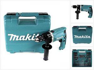 Makita Perceuse à percussion dans coffret, 710W avec 74pièces accessoires, hp1631kx3 de la marque Makita image 0 produit